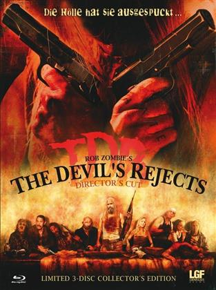 The Devil's Rejects (2005) (Cover A, Collector's Edition, Director's Cut, Limited Edition, Mediabook, Uncut, Blu-ray + 2 DVDs)