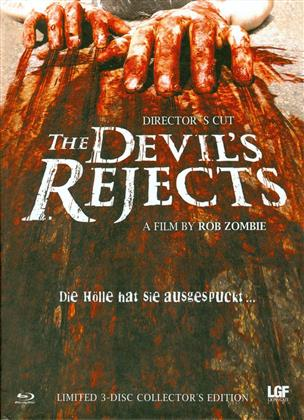 The Devil's Rejects (2005) (Cover C, Collector's Edition, Director's Cut, Limited Edition, Mediabook, Uncut, Blu-ray + 2 DVDs)