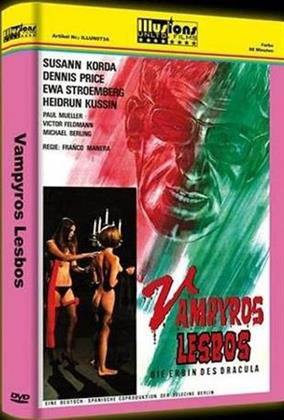 Vampyros Lesbos - Die Erbin des Dracula (1971) (Grosse Hartbox, Cover A, Edizione Limitata, Uncut)