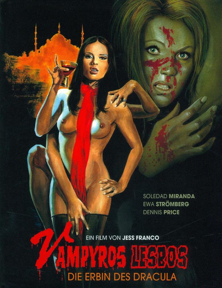 Vampyros Lesbos - Die Erbin des Dracula (1971) (Kleine Hartbox, Cover B, Edizione Limitata, Uncut)