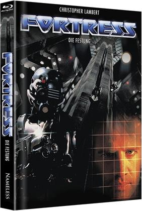 Fortress - Die Festung (1992) (Cover A, Limited Edition, Mediabook, Uncut, Unrated, Blu-ray + DVD)