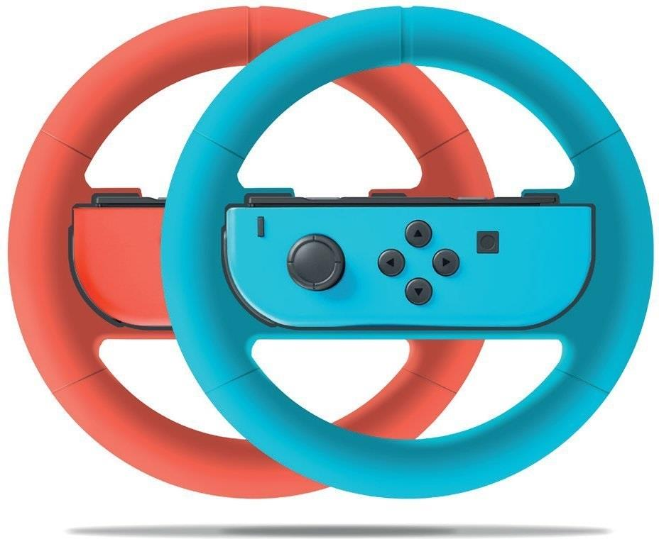 Nintendo Switch Wheel Duo Pack - red/blue