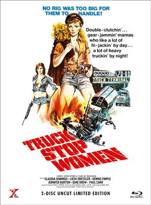 Truck Stop Women (1974) (Cover A, Limited Edition, Mediabook, Uncut, Blu-ray + DVD)