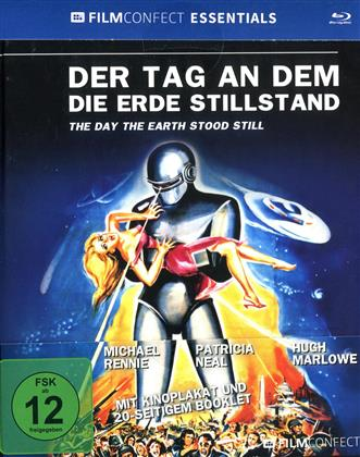 Der Tag an dem die Erde still stand (1951) (Filmconfect Essentials, s/w, Mediabook)