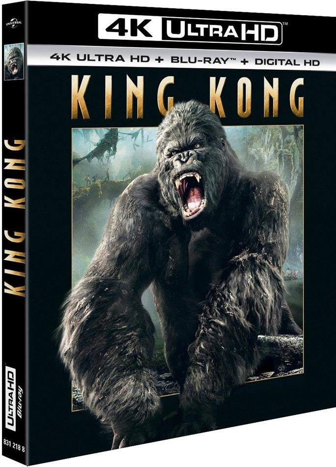King Kong (2005) (4K Ultra HD + Blu-ray)