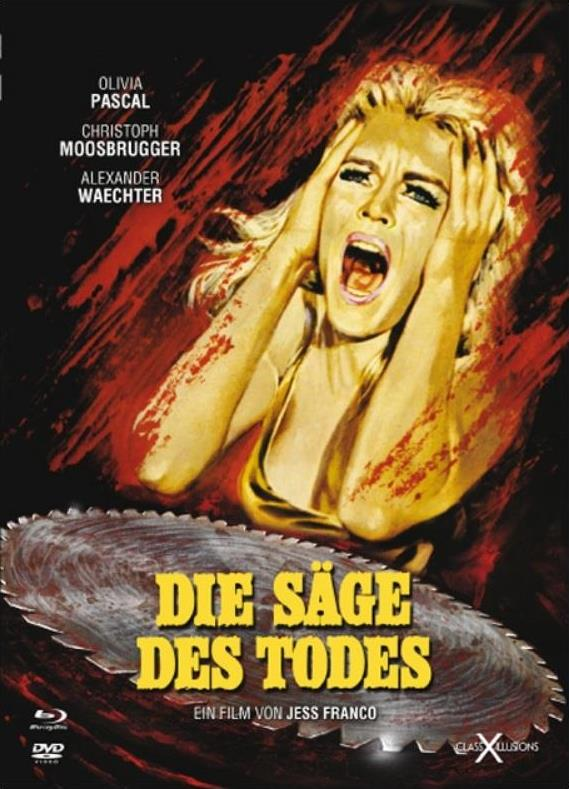 Die Säge des Todes (1981) (Class-X-Illusions, Digibook, Limited Edition, Uncut, Blu-ray + DVD)
