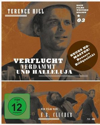 Verflucht, verdammt und Halleluja (1972) (Western Helden, Remastered, Blu-ray + DVD)