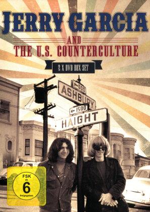 Jerry Garcia (Grateful Dead) - Jerry Garcia & The U.S. Counterculture (Inofficial, 2 DVDs)