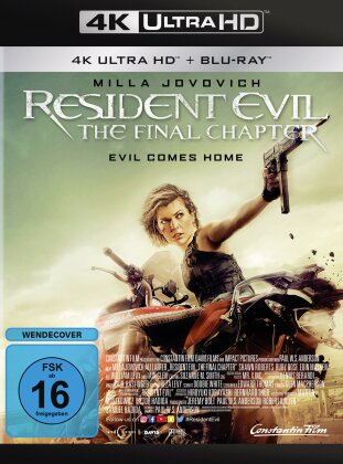 Resident Evil 6 - The Final Chapter (2016) (4K Ultra HD + Blu-ray)