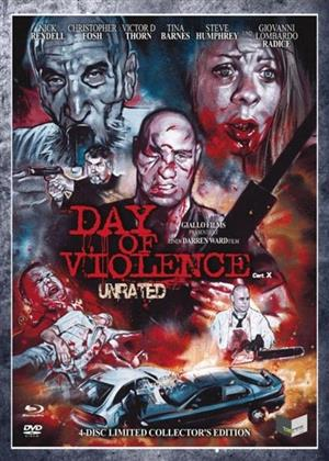 Day of Violence (2010) (Digipack, Cover A, Collector's Edition, Limited Edition, Uncut, Unrated, Blu-ray + 3 DVDs)