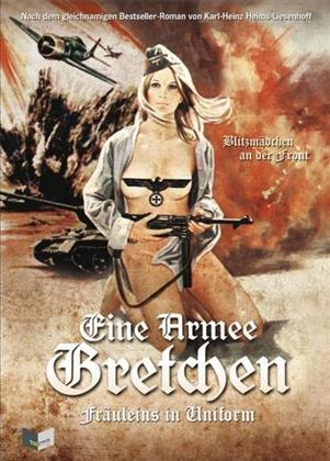 Eine Armee Gretchen - Fräuleins in Uniform (1973) (Cover C, Limited Edition, Mediabook, Uncut, Blu-ray + DVD)
