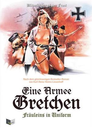 Eine Armee Gretchen - Fräuleins in Uniform (1973) (Cover B, Limited Edition, Mediabook, Uncut, Blu-ray + DVD)
