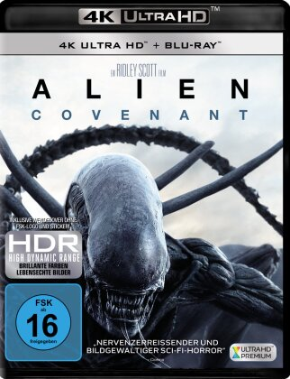 Alien: Covenant (2017) (4K Ultra HD + Blu-ray)