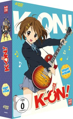 K-On! - Staffel 1 (Gesamtausgabe, 4 DVDs)