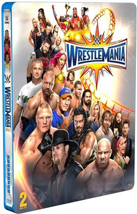 WWE: Wrestlemania 33 (2017) (Limited Edition, Steelbook, 2 Blu-rays)