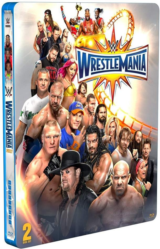 WWE: Wrestlemania 33 (2017) (Edizione Limitata, Steelbook, 2 Blu-ray)