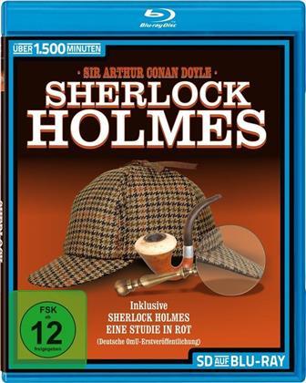 Sherlock Holmes - Die komplette Serie von 1954 + 8 Filme (s/w)