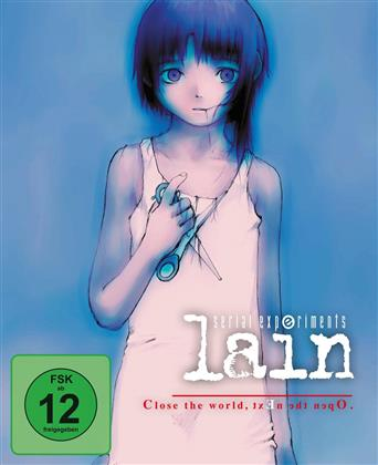 Serial Experiments Lain (Gesamtausgabe, Collector's Edition, 2 Blu-rays)