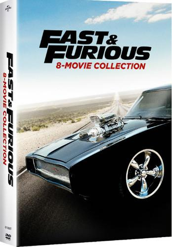 Fast & Furious 8-Movie Collection (8 DVDs)