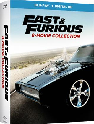 Fast & Furious 8-Movie Collection (9 Blu-rays)