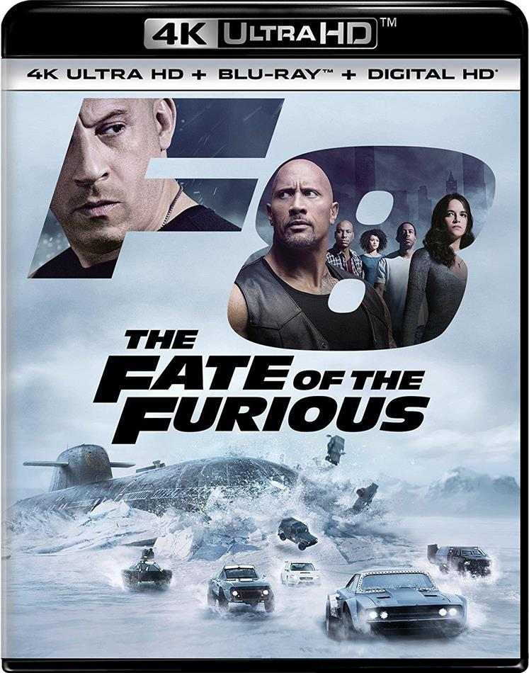 The Fate of the Furious (2017) (4K Ultra HD + Blu-ray)