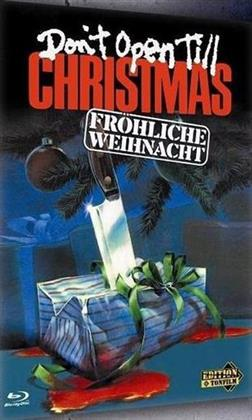 Don't Open Till Christmas - Fröhliche Weihnacht (1984) (Cover B, Limited Edition, Mediabook, Uncut, Blu-ray + DVD)