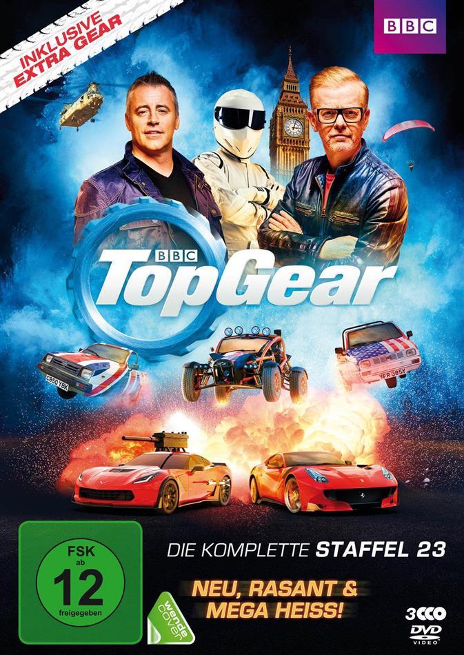 Top Gear - Staffel 23 (BBC, 3 DVDs)