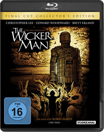 The Wicker Man (1973) (Final Cut, Collector's Edition, Director's Cut, Versione Cinema, 2 Blu-ray)