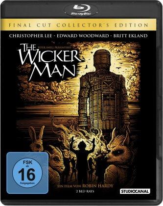 The Wicker Man (1973) (Final Cut, Collector's Edition, Director's Cut, Kinoversion, 2 Blu-rays)