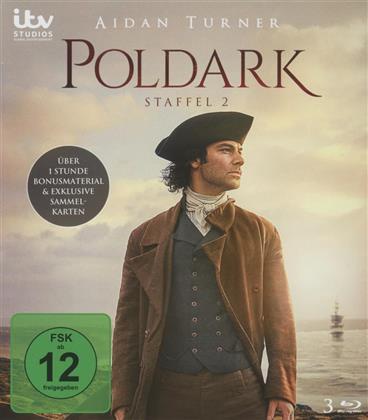 Poldark - Staffel 2 (3 Blu-rays)