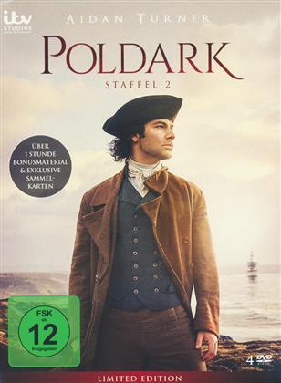 Poldark - Staffel 2 (Limited Edition, 4 DVDs)