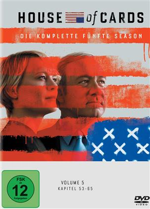House of Cards - Staffel 5 (Digibook, 4 DVDs)