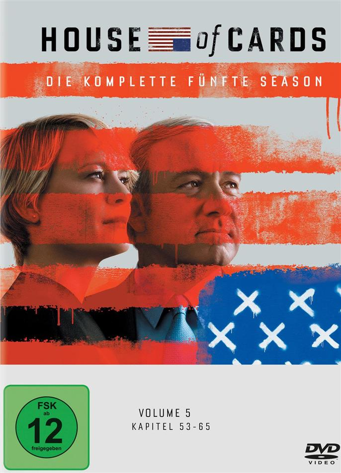 House of Cards - Staffel 5 (Digibook, 4 DVD)