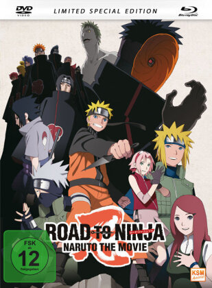 Naruto Shippuden - The Movie - Road to Ninja (2012) (Limited Edition, Mediabook, Special Edition, Blu-ray + DVD)