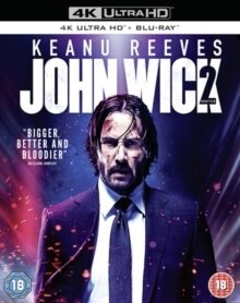 John Wick - Chapter 2 (2017) (4K Ultra HD + Blu-ray)