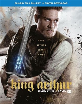 King Arthur - Legend Of The Sword (2017) (Blu-ray 3D + Blu-ray)
