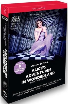Royal Ballet, Orchestra of the Royal Opera House, … - Talbot - Alice's adventures in wonderland (Opus Arte, Special Edition)
