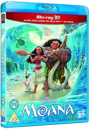 Moana (2016) (Blu-ray 3D + Blu-ray)