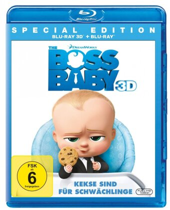 The Boss Baby (2017) (Special Edition, Blu-ray 3D + Blu-ray)