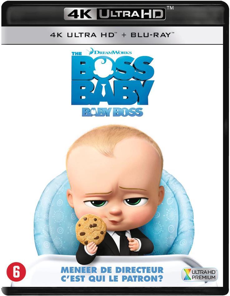 The Boss Baby - Baby Boss (2017) (4K Ultra HD + Blu-ray)
