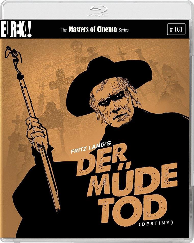 Der müde Tod - Destiny (1921) (DualDisc, Masters of Cinema, s/w, Blu-ray + DVD)