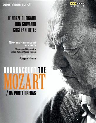 Opernhaus Zürich, … - Mozart - Da Ponte Operas - Le nozze di Figaro / Don Giovanni / Così fan tutte (Arthaus Musik, 6 DVDs)