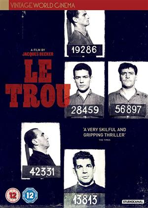 Le Trou (1960) (Vintage World Cinema, s/w)