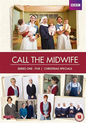 Call The Midwife - Seasons 1-5 + Christmas Specials (BBC, Repackaged, 16 DVDs)