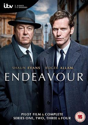 Endeavour - Series 1-4 (15 DVDs)