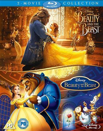 Beauty and the The Beast (1991) / Beauty and the Beast (2017) (2 Blu-rays)