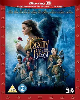 Beauty and the Beast (2017) (Blu-ray 3D + Blu-ray)