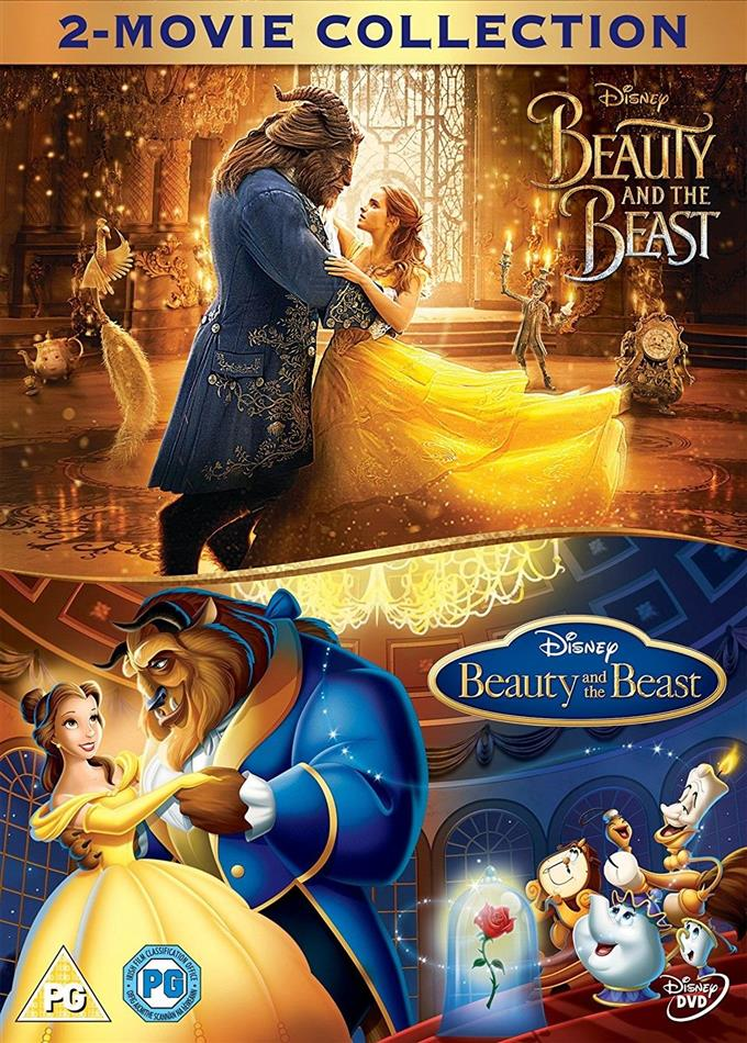Beauty And The Beast 1991 Beauty And The Beast 2017 2 Dvds Cede Com