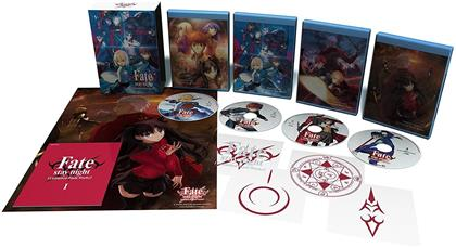 Fate/Stay Night: Unlimited Blade Works - Part 1 - Season 1 (Collector's Edition, 4 Blu-ray)