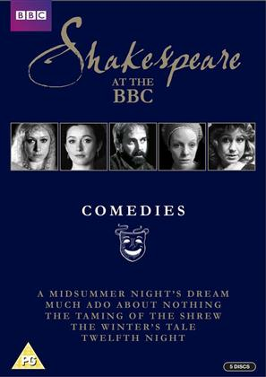 Shakespeare At The BBC - Comedies (BBC, s/w, 5 DVDs)